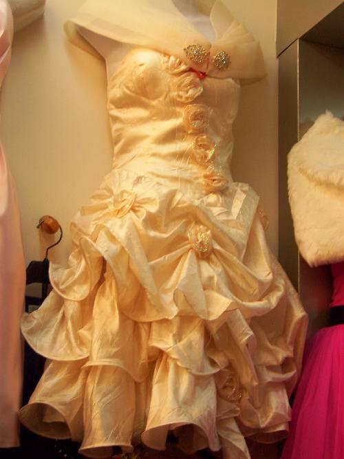 流行時尚短禮服